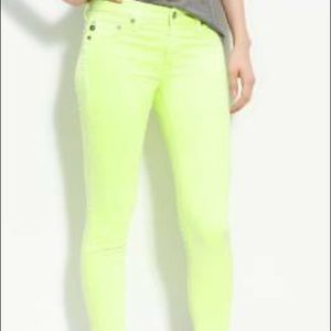 AG for Anthro THE STEVIE ANKLE Jeans, SZ 25R.
